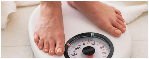 クローン病の為に減っていた体重が増えてきた
