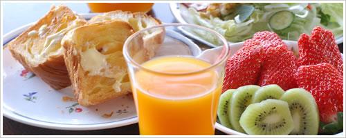 クローン病患者の朝ご飯